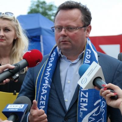 Konferencja prasowa SLD, Kielce, 30.05.2016